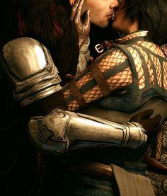 dragon age inquisition cullen romance - Buscar con Google