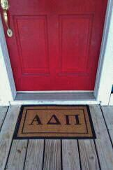 Greek doormats! Torrey Pines, Doormats, Greek, Handmade Gifts, House, Etsy, Vintage, Home Decor, Kid Craft Gifts
