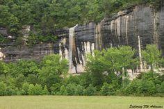 Roark Bluff Falls -- via ExploringNWArkansas.com