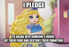 Ever after-Lol! stinks to be the child of that kinda fairy tale person! ~ pinta