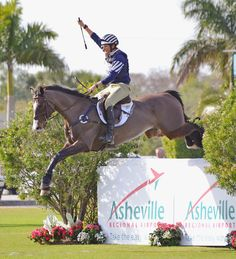 SpectraVET Performance of the Week: Boyd Martin  A fist-pump well earned!