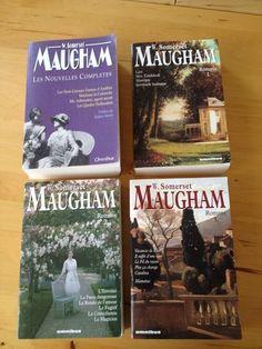 Les Nouvelles Complètes Et Romans de W. Somerset Maugham en 4 tomes aux Presses de la Cité/Omnibus