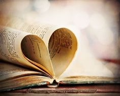 Heart My Book  Fine Art Photograph  8x10 by SarahMoldovan on Etsy. Love it.