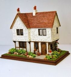 1/144th scale dollhouse by Nell Corkin