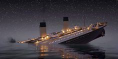 Want to be bummed out for the rest of the day about a tragedy that happened over a century ago? If yes, then this video recreating the sinking of the RMS Titanic in real time is for you. The historic passenger ship struck an iceberg on April Naufrágio Do Titanic, Titanic Sinking, Titanic Movie, Titanic Underwater, Tempo Real, Lower Deck, Park Around, Music Humor, One Liner
