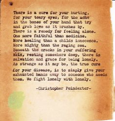Typewriter poem #16 in Remington Tumblr series.