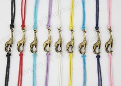 Giraffe bracelet, bronze, lovely bracelet, woven bracelets, send the best gift to a friend
