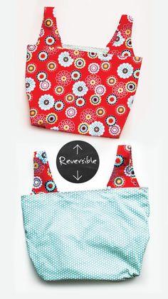 grocery bag pattern  ♥