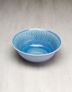 CHENNAI BOWL skål blå