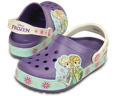 b040eb7ee Crocs. Strap HeelsShort FilmGirls ShoesCrocsFrozenCushionOutfitPillows. Kids   CrocsLights Frozen™ Fever Clog ...