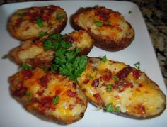 Loaded Potato Skins Recipe - FabFoodies