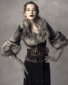 Gucci by Tom Ford Fox Fur Coat Piece Fall/Winter 2007 Size 40IT   Clothing, Shoes & Accessories, Women's Clothing, Coats & Jackets   eBay!