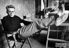 James Dean, photo by Phil Stern