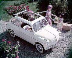 La Fiat 600 compie 60 anni
