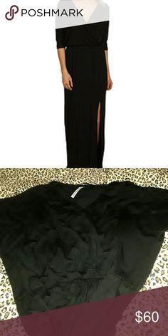 Michael stars maxi dress Three-quarter length sleeves.Elasticized waist.Seductive slit at left hem.Slip-on design. Michael Stars Dresses Maxi