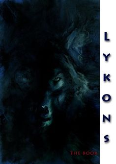 """""""Lykons""""_Charcoal and colored pencil"""