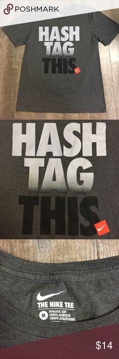 Nike men's t-shirt Men's gray Nike medium t-shirt Nike Shirts Tees - Short Sleeve