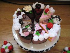 Fette di torta miste