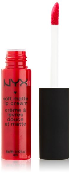 NYX Soft Matte Lip Cream, Monte Carlo. Apparently this lasts forever.