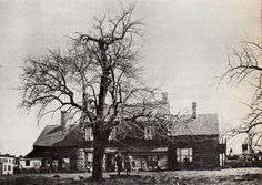 The Upper West Side at Amsterdam and 70th Street, 1888 - Jacob Harsen Farm House (was at the Center of Harsenville)