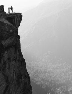 Epic wedding portrait at Yosemite National Park!