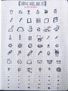 Bujo doodle ideas, part 3- studypetals
