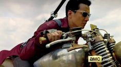 Sunny on a motorcycle, Into the Badlands