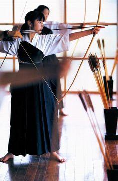 Stylish Japanese Archer