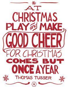 Vintage-Inspired Christmas Print (Digital)