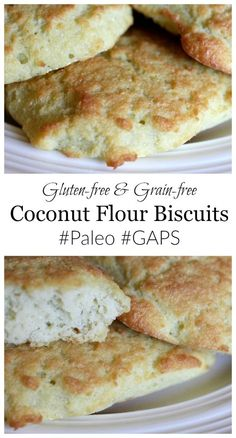Looking for a family-friendly grain-free bread? Try these delicious coconut flour biscuits!