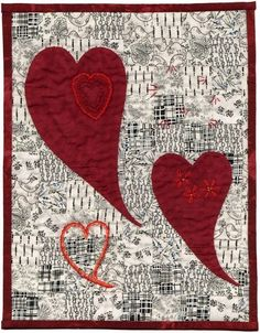 """Love Lifted Me"" by Cherie at Quilted Jonquil.  Houston 2012 auction quilt."