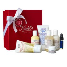 """Kiehl's Greatest Hits Collection   the best skin products she will love   Note: """"Our love is more than skin deep."""""""