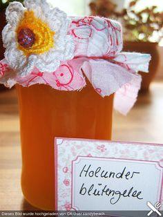 Jetzt ist Holunderblütenzeit - Holunderblütengelee mit Orangensaft - Extrem Lecker!