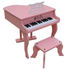30 Key Fancy Baby Grand Piano in Pink by Schoenhut. $176.64. Give your children a Baby Grand Toy Piano of their own. The Schoenhut Fancy Baby Grand Toy Piano and other unique miniature piano toys from Schoenhut are designed to encourage very young children to play piano and develop a love of music. Encourage your child to be creative at the Schoenhut Fancy Baby Grand Toy Piano and he or she will be playing ballads just like Schroeder in the comic strip Peanuts.  ...