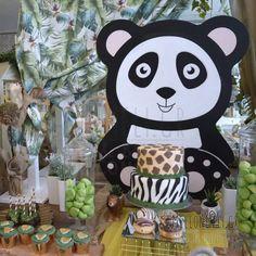 Στολισμός Βάπτισης-Candybar Panda Panda Bear, Mickey Mouse, Disney Characters, Fictional Characters, Box, Travel Suitcases, Swan, Cakes, Luxury