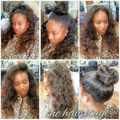 Full head sew in weave with part and edges left out done by me full head sew in weave with part and edges left out done by me maryam hasan weaves pinterest braid patterns and hair weaves pmusecretfo Images