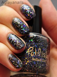 Sullen Girl  Handmixed Nail Polish by pahlish on Etsy, $9.00