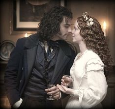 Aidan Turner, Amy Manson Screen Capture from  BBC2 Desperate Romantics TV Series 2009