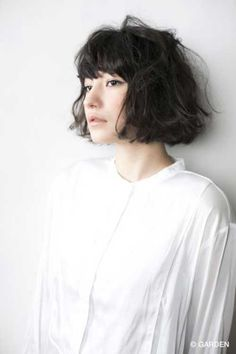 Image result for blunt wavy bob with bangs