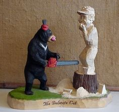 Chainsaw Carving Patterns   Chainsaw Artist Bear