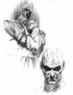 Brainiac character design by Alex Ross