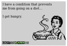 I get hungry!!  Lol