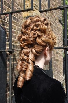 Period Hair & Make-up - Delamar Academy Renaissance Hairstyles, Historical Hairstyles, Victorian Hairstyles, Elegant Hairstyles, Vintage Hairstyles, Girl Hairstyles, Hair Reference, Love Hair, Hair Pictures