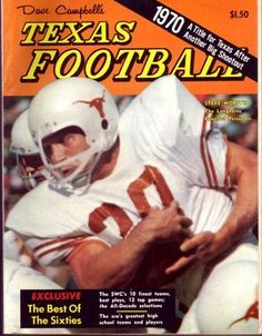 1970 Steve Worster Longhorns Dave Campbell's Texas Football Magazine . $48.95. Date: 1970 Cover: Steve Worster - Texas Longhorns Condition: Excellent This is an original Dave Campbell's Texas Football Magazine from the above date. This is the entire magazine. Dave Campbell's Texas Football Magazine has become a great source of information on High School & College Football in Texas. These issues have become very valuable over the years. Great chance to complete...
