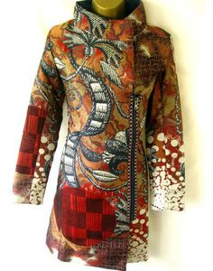 Tapestry Coat by Christian Lacroix for Desigual. From UK Ebay store Belle-Divino (stores.ebay.co.uk/BELLE-DIVINO) October 2012