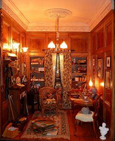 Sherlock's Finished Room Box | Flickr - Photo Sharing!