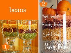 Thanksgiving Table Decor Ideas - Vase Fillers 1