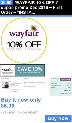 Wayfair 10 off coupon code