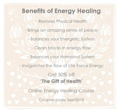 Online Energy Healing Workshop - Learn Energy Healing in in the comfort of your home with this quick and easy Energy Healing Course. Healing Hands, Self Healing, Health Practices, Spiritual Health, Negative Emotions, Spiritual Awakening, Inner Peace, Blessing, Raising