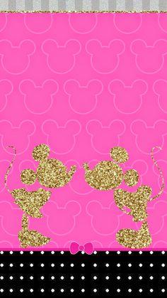 NikkiBsDesignz: Minnie loves Mickey Wall
